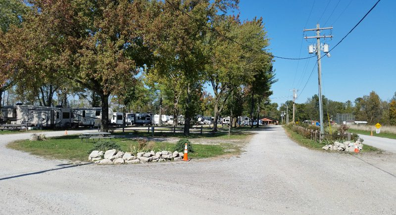 Entrance view - Archway RV Park