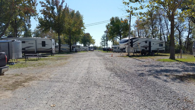 Sites road - Archway RV Park
