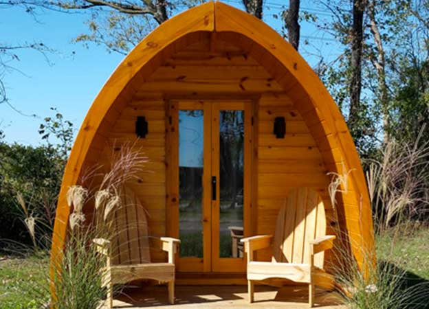 Cabins and Glamping Pods - Archway RV Park